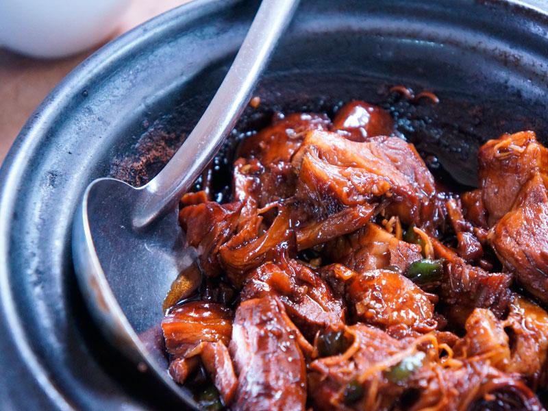 Carrilleras de cerdo al Oporto - Carnicería Sergio y Julio