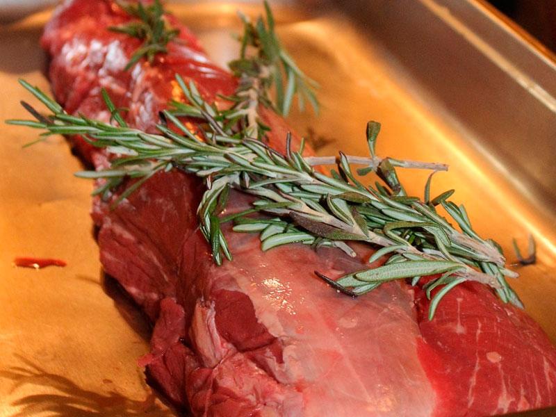 rosbif de ternera - Carnicería Sergio y Julio