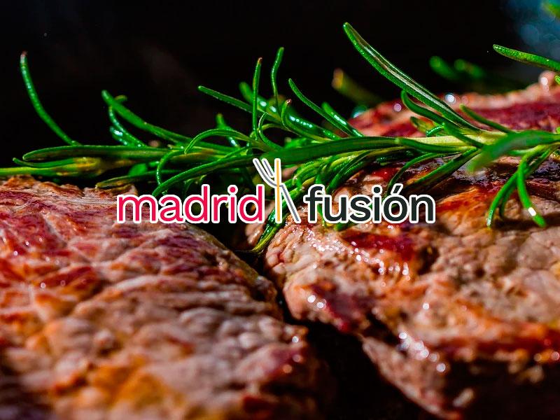 Ternera de Guadarrama en Madrid Fusión - Carnicería Sergio y Julio