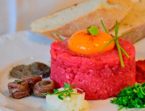 Receta de steak tartar de ternera de Guadarrama