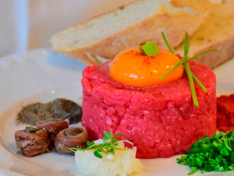 Receta de steak tartar de ternera de Guadarrama - Carnicería Sergio y Julio